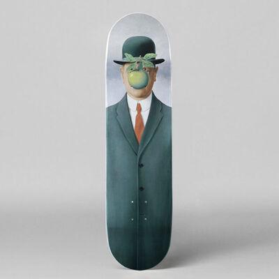 René Magritte, 'Le fils de l'homme Skateboard Deck by René Magritte', 2018