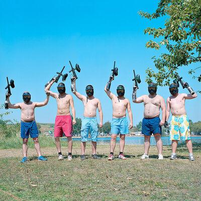 Evžen Sobek, 'Untitled (Guys with Guns)', 2009