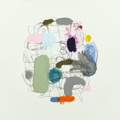 Marie Le Lievre, 'Map (Violet & Kohl)', 2018