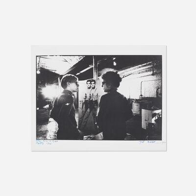 Nat Finkelstein, 'Warhol, Dylan and Elvis', 1966