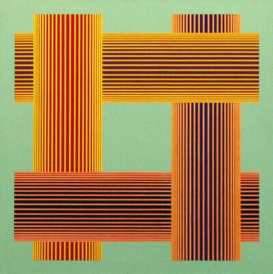 Richard Anuszkiewicz, 'Translumina with Pale Green', 1986