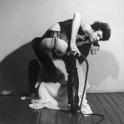 Robert Mapplethorpe, 'Self Portrait with Whip', 1978