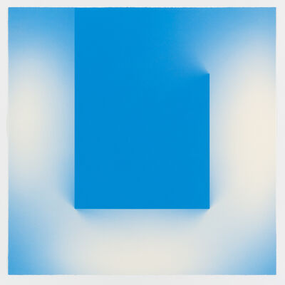 Brian Eno, 'Helica Cook's Blue (Tails)', 2018