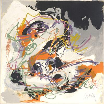 Karel Appel, 'Tempete. no 1 - Storm. Paysages Humains.', 1961