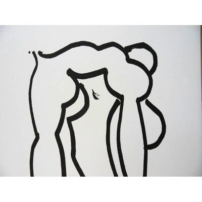 "Henri Matisse, 'Lithograph ""Acrobat"" after Henri Matisse'"