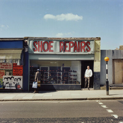 Peter Mitchell, 'Mr. Costas. May 19, 1979. Stroud Green Road, London. ', 1979