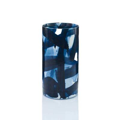 Felicity Aylieff, 'Blue & White Cylinder Vase', 2015