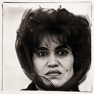 Diane Arbus, 'Puerto Rican Woman with a Beauty Mark, NYC', 1969