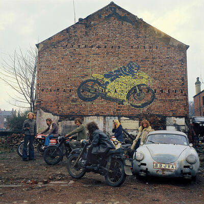 Peter Mitchell, 'Kingston Racing Motors, Olinda Terrace, Leeds', 1975