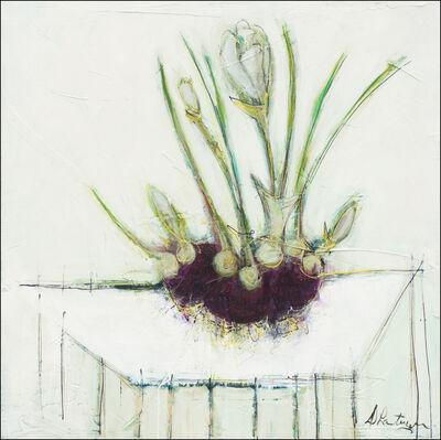 Danielle Lanteigne, ' Le printemps et ses crocus'