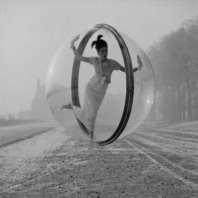 Melvin Sokolsky, 'Delvaux Chase, Paris', 1963