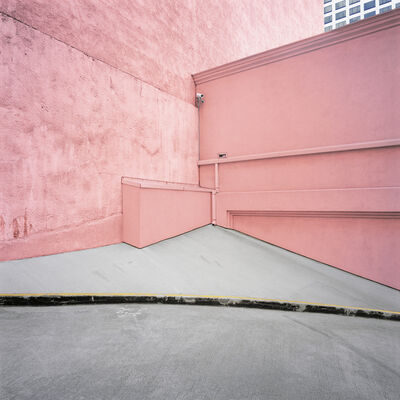 Daniel Mirer, 'Pink Wall, Los Angeles, USA', ca. 2005