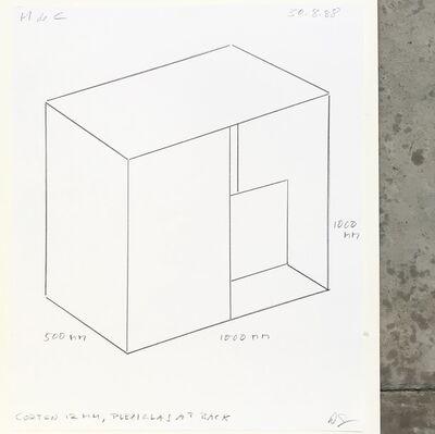 Donald Judd, 'Untitled ', 1988