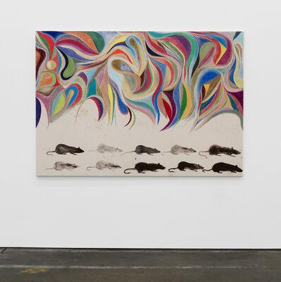 Chris Johanson, '(Rats) Painting #1', 2018