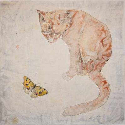 Weiqi Wang, 'Cat and Butterfly', 2014