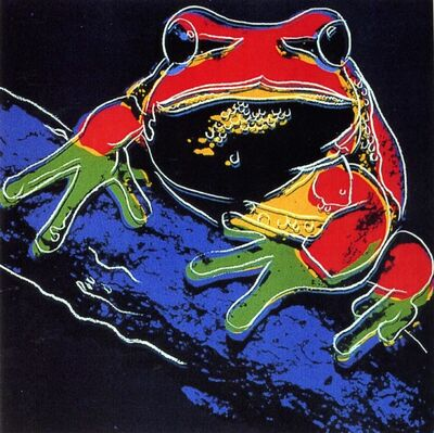 Andy Warhol, 'Pine Barrens Tree Frog FS II.294', 1983