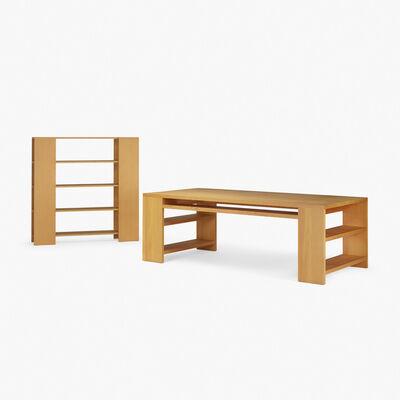 Donald Judd, 'library desk and bookshelf', 1982