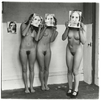 Francesca Woodman, 'About Being My Model, Providence, Rhode Island', 1976