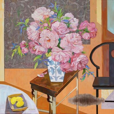 Huang Duo Ling 黄多玲, 'Peonies in Vase ', 2018