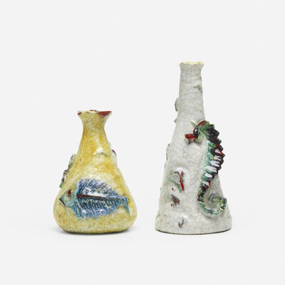 Marcello Fantoni, 'vases, set of two', c. 1965