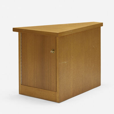 Frank Lloyd Wright, 'corner cabinet from Price Tower, Bartlesville, Oklahoma', 1956