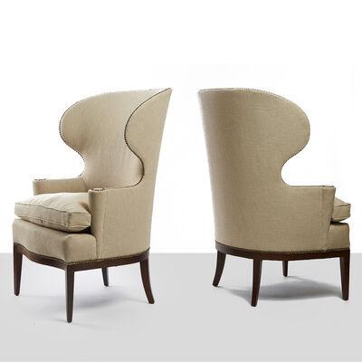 Edward Wormley, 'Edward Wormley Early Wing Chairs', 1940-1949