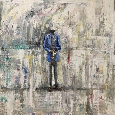 Gregory Prestegord, 'Sax Man'