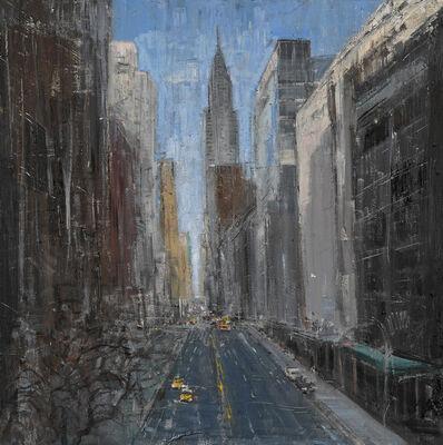 Gregory Prestegord, 'Manhattan, Late Fall'