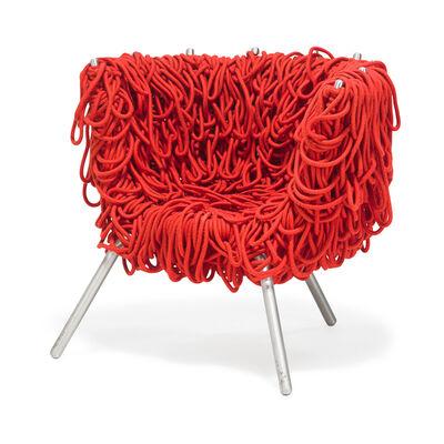 Fernando Campana, 'Vermelha chair, Brazil', 1990s
