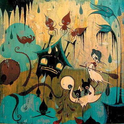 Camille Rose Garcia, 'Dreamtime Escape Plan', ca. 2005