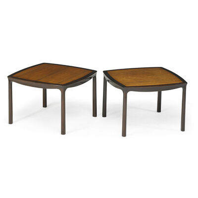 Edward Wormley, 'Pair of side tables, Berne, IN', 1970s