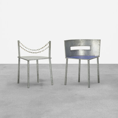 Rei Kawakubo, 'Rare Chairs, Set of Two', c. 1987
