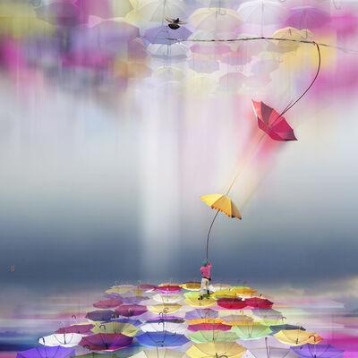 Marie-Laure Vareilles aka Maïlo, 'Colorer le Monde: Échanger / Color The World: Exchange', 2018