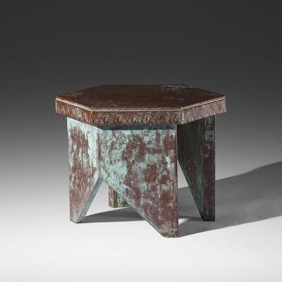 Frank Lloyd Wright, 'stool from Price Tower, Bartlesville, Oklahoma', 1956