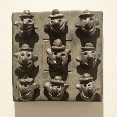 Bill Stewart, 'Clowns (tile)', 2010