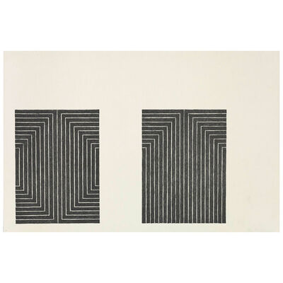 Frank Stella, 'Club onyx', 1967