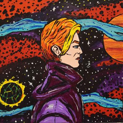 Marina Marchand, 'David Bowie', 2017