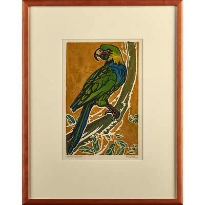 """William S. Rice, 'Green Parrot and """"Orioles,"""" California', ca. 1920-30"""