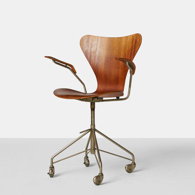Arne Jacobsen, 'Arne Jacobsen - Series 7 Office Chair - Model 3217', ca. 1960