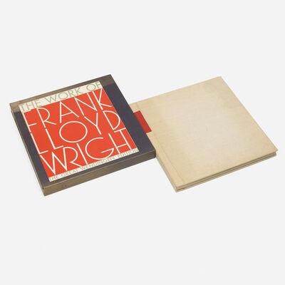 Frank Lloyd Wright, 'The Life-Work of the American Architect Frank Lloyd Wright', 1925/1965