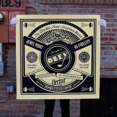 Shepard Fairey, 'Luxurious Sounds', 2014