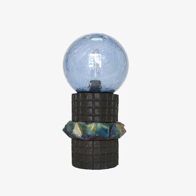 Kelly Lamb, 'Kelly Lamb Totem Table Lamp 3 Part - Blue', 2017