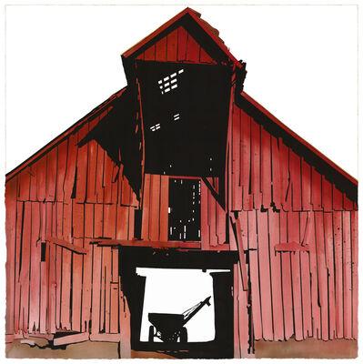 George Dombek, 'Washington County Red Barn', 2013