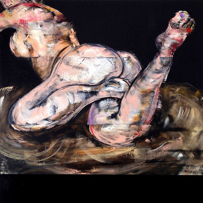Bill Dunlap, 'Nude (Deprived of Other Banquet, I Entertained Myself)', 2014