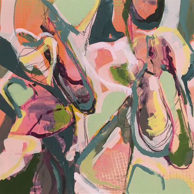 Elizabeth Stern, 'eggplant hearts', 2017