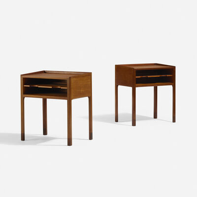 Willy Beck, 'Occasional tables, pair', c. 1960