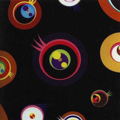 Takashi Murakami, 'Jellyfish Eyes (Black I), ', 2004