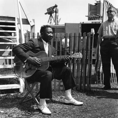 William Claxton, 'Muddy Waters, Newport Jazz Festival, 1956 '