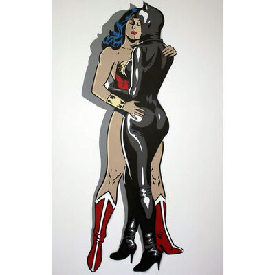 Rich Simmons, 'Rich Simmons, Between The Catsuit', 2017