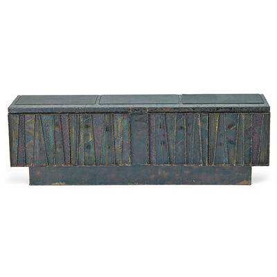 Paul Evans Studio, 'Deep Relief cabinet, New Hope, PA', 1970
